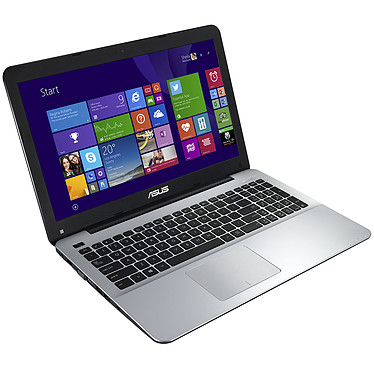 "ASUS R511LJ-XX324H Intel Core i3-5010U 4 Go 1 To 15.6"" LED HD NVIDIA GeForce 920M Graveur DVD Wi-Fi N/Bluetooth Webcam Windows 8.1 64 bits (garantie constructeur 1 an)"
