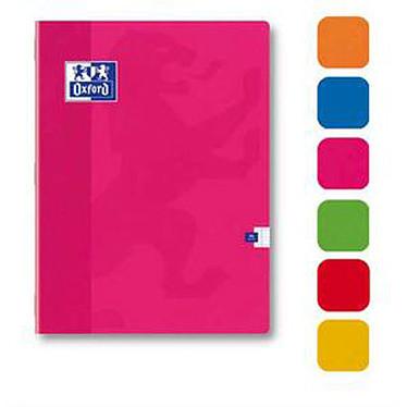Oxford Cahier 96 pages 24 x 32 cm petits carreaux Coloris aléatoires Cahier 96 pages 24 x 32 cm petits carreaux 5x5 mm