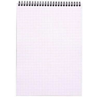 Avis Rhodia Bloc Note Spirale 21 x 29.7 cm quadrillé 5 x 5 160 pages
