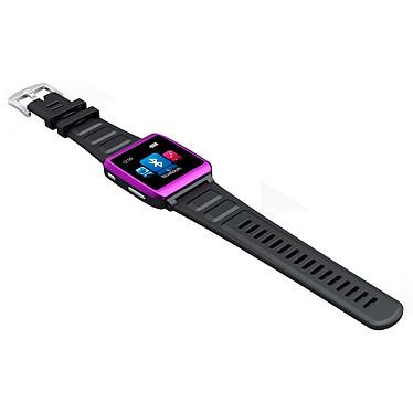"""MPMAN Watch Me 4 Go Rose Montre lecteur MP3 Bluetooth avec écran 1.5"""""""