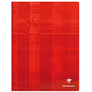 Clairefontaine Cahier Metric brochure 192 pages 24 x 32 cm grands carreaux Seyès coloris aléatoires