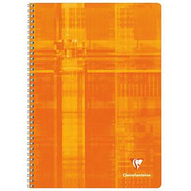Avis Clairefontaine Cahier Metric Spirale 180 pages 21 x 29.7 cm grands carreaux Seyès coloris aléatoires