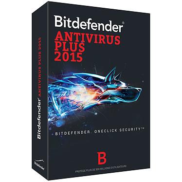 Bitdefender Antivirus Plus 2015 - Licence 1 an 10 postes Antivirus - Licence 1 an 10 postes (français, WINDOWS)