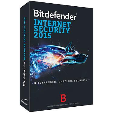 Bitdefender Internet Security  2015 - Licence 1 an 5 postes