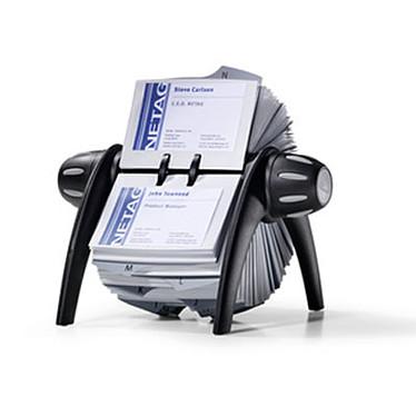 Durable Visilfix Flip fichier rotatif pour cartes de visite Noir