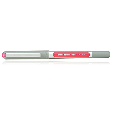 Uni-Ball Eye Stylo roller pointe métal fine 0.7 mm Rouge
