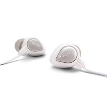Odoyo Waterproof Wired Sport Headset SN Blanc