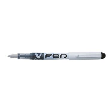 PILOT V-Pen Stylo Plume 0,4 mm Noir