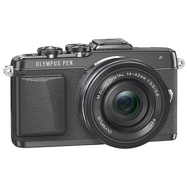 Olympus E-PL7 Noir + Objectif M.ZUIKO DIGITAL 14-42mm 1:3.5-5.6 II R Noir