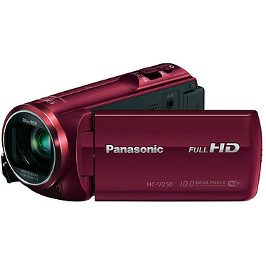 Panasonic HC-V250EG Rouge