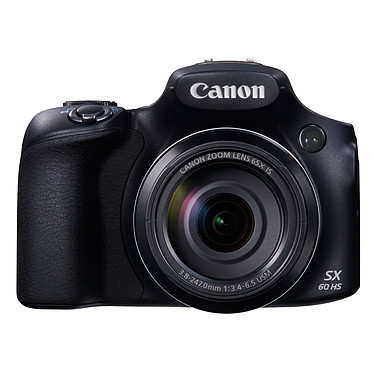 Canon PowerShot SX60 HS  Appareil photo 16.1 MP - Zoom optique ultra grand-angle 65x - Vidéo Full HD - Wi-Fi - NFC