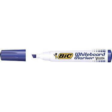 BIC Velleda 1751 Azul Marcador BIC Velleda azul con punta biselada 1,9 mm borrado en seco