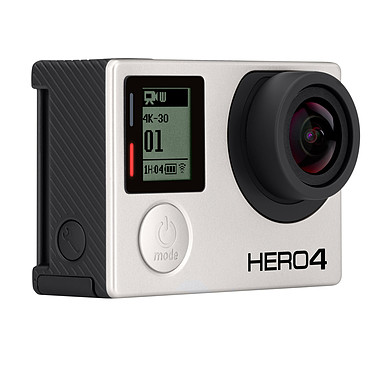 GoPro HERO 4 : Black Edition Caméra sportive 4K Ultra HD à mémoire flash avec Wi-Fi et Bluetooth