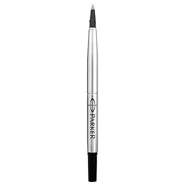 Parker Recharge Stylo Roller pointe moyenne noire