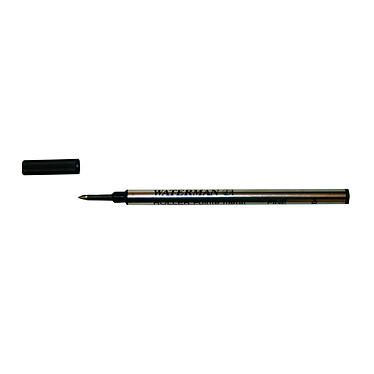 Waterman Recharge Stylo Roller pointe fine Noire