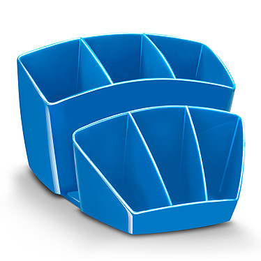 CEP Gloss Multipot 8 compartiments Bleu Océan
