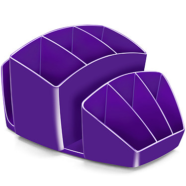 CEP Gloss Multipot 8 compartiments Violet