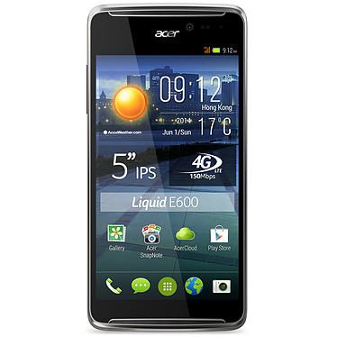 """Acer Liquid E600 Gris Smartphone 4G-LTE avec écran tactile 5"""" sous Android 4.4"""