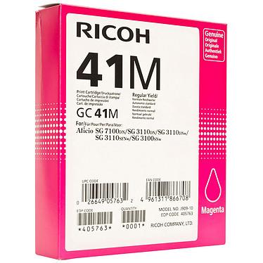 Ricoh GC41M Magenta - 405763 Cartouche d'encre gel
