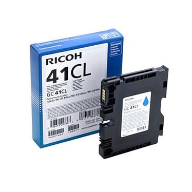Ricoh GC41CL Cyan - 405766  Cartouche d'encre gel