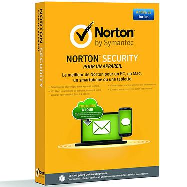 Norton Security 2.0  Antivirus - Licence 1 an 1 poste