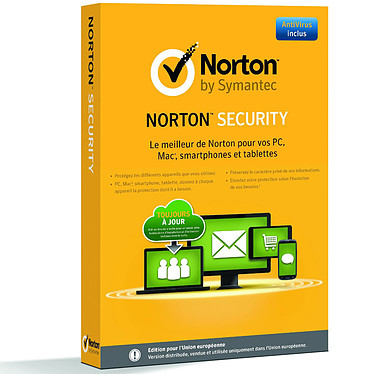 Norton Security 2.0  Antivirus - Licence 1 an 5 postes