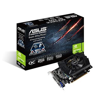 ASUS GT740-OC-2GD5 2 Go HDMI/DVI - PCI Express (NVIDIA GeForce avec CUDA GT 740)