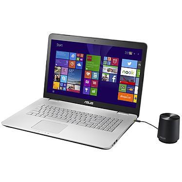 """ASUS N751JK-T4125H Intel Core i7-4710HQ 16 Go SSD 128 Go + HDD 1 To 17.3"""" LED NVIDIA GeForce GTX 850M Graveur DVD Wi-Fi AC/Bluetooth Webcam Windows 8.1 64 bits (garantie constructeur 1 an)"""