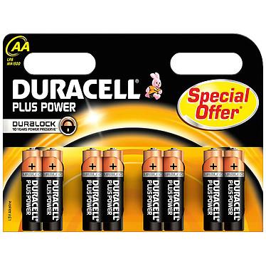 Duracell Plus Power AA (8 unidades) Pack de 8 pilas alcalinas AA (LR6) 1,5 V