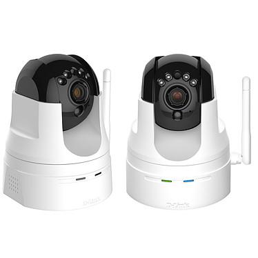 D-Link DCS-5222LX2 2 Caméras réseau 720p sans fil Wi-Fi N
