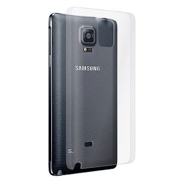 Muvit Coque Clearback pour Galaxy Note 4 Coque transparente pour Samsung Galaxy Note 4