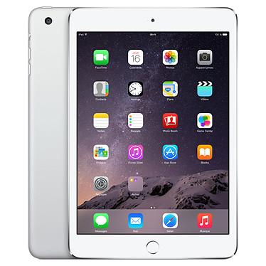 "Apple iPad mini 3 avec écran Retina Wi-Fi 64 Go Argent Tablette Internet - Apple A7 1.3 GHz 1 Go 64 Go 7.9"" LED tactile Wi-Fi N/Bluetooth Webcam iOS 8"