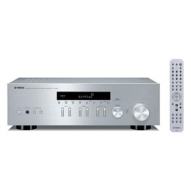 Yamaha R-N301 Argent Amplificateur stéréo intégré 2 x 100 W avec DAC, AirPlay et DLNA