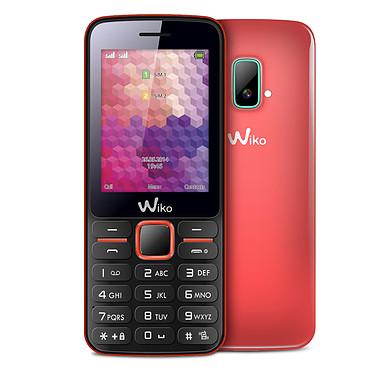 """Wiko Riff Corail Téléphone 2G Dual SIM avec écran 2.4"""""""