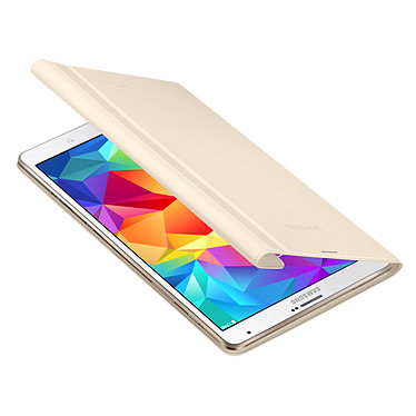 """Samsung Book Cover EF-BT700 Ivoire (pour Samsung Galaxy Tab S 8.4"""") pas cher"""