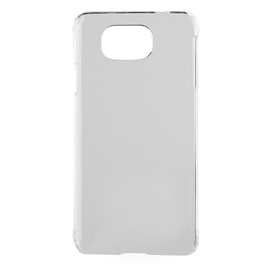 xqisit iPlate Glossy Transparent Samsung Galaxy Alpha Coque pour Samsung Galaxy Alpha