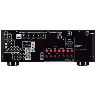 Avis Yamaha RX-V677 Noir + Jamo S 626 HCS Dark Apple
