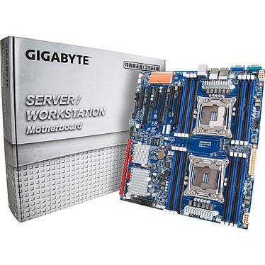 Gigabyte MD70-HB0 Carte mère E-ATX 2x Socket 2011-3* Intel C612 - SAS - SATA 6Gb/s - 3x PCI Express 3.0 16x - 3x Gigabit LAN