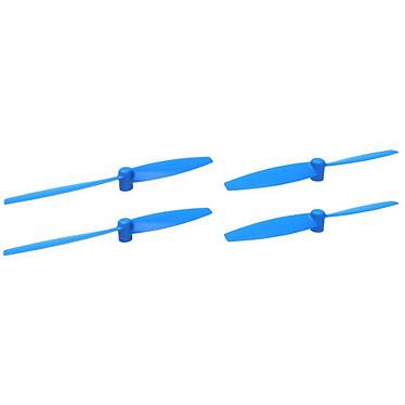 Parrot Jeu de 4 hélices MiniDrone Rolling Spider Bleu