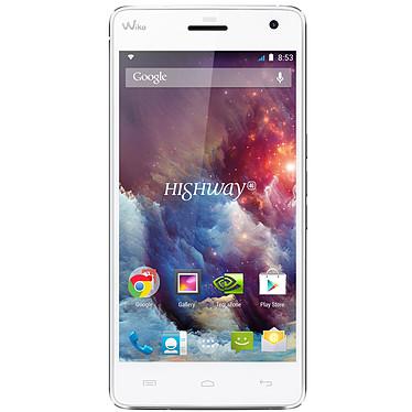 "Wiko Highway 4G Blanc Smartphone 4G-LTE - NVIDIA Tegra 4i Quad-Core 2 GHz - RAM 2 Go - Ecran tactile 5"" 1080 x 1920 - 16 Go - Bluetooth 4.0 - 2350 mAh - Android 4.4"