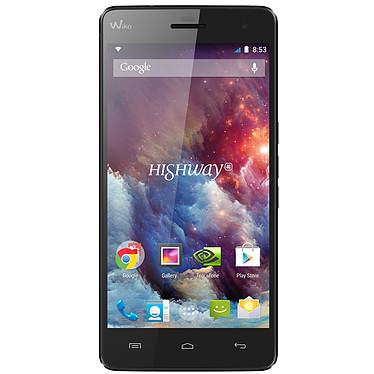 "Wiko Highway 4G Noir Smartphone 4G-LTE avec écran tactile Full HD 5"" sous Android 4.4"