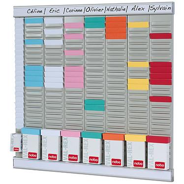 Avis Nobo kit office planner 8 colonnes 24 fentes