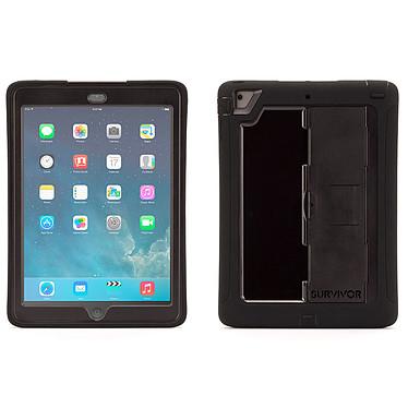 Griffin Survivor for iPad Air Noir/Noir Coque ultra robuste en polycarbonate et silicone pour iPad Air