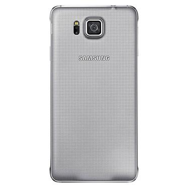 Samsung Coque Arrière Samsung Galaxy Alpha Argent