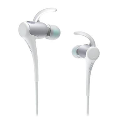 Sony MDR-AS800BT Blanc Écouteurs intra-auriculaires sportifs sans fil Bluetooth et NFC