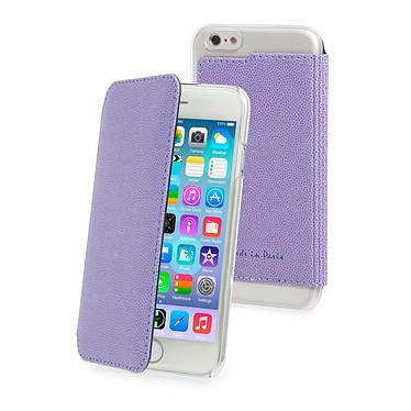 Muvit Crystal Folio Made in Paris Violet pour Apple iPhone 6/6s