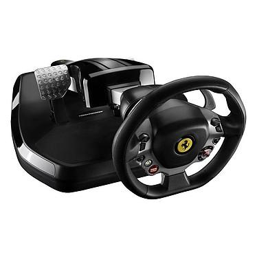 Thrustmaster Vibration GT Cockpit 458 Italia Edition Ensemble de pilotage avec volant et pédalier pliables et fonction vibration (compatible PC et Xbox 360)