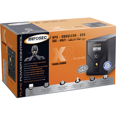 Avis Infosec X3 EX LCD USB 2000