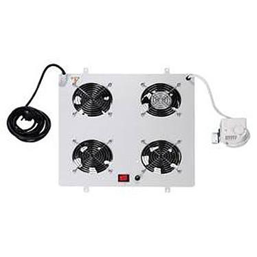 DIGITUS DN-19 FAN-4  Unité de ventilation pour armoires réseau - Gris