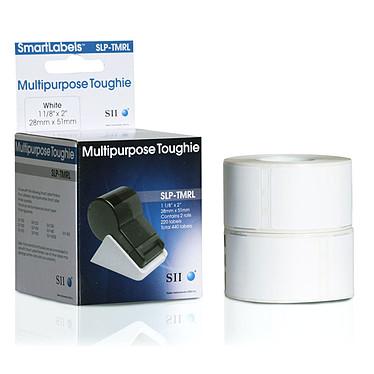 Seiko SLP-TMRL Boîte de 440 étiquettes multi usage blanches - 28 x 51 mm